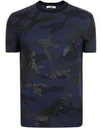 Valentino - Camouflage Print T Shirt - Lyst