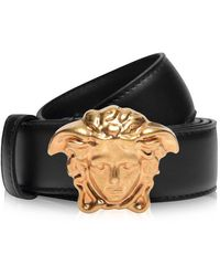 Versace Palazzo Calf Leather Belt - Multicolour