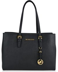 MICHAEL Michael Kors - Jet Set Travel Large Tote - Lyst