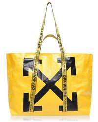 Off-White c/o Virgil Abloh Off Tote Bag Ld94 - Yellow