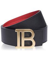 Balmain B Reversible Belt - Multicolour