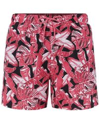 BOSS by Hugo Boss Hugo Barracuda Swim Shorts Mens - Pink
