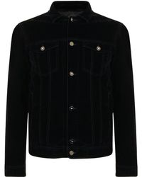 Emporio Armani - Velour Jacket - Lyst