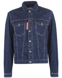 DSquared² Canada Denim Jacket - Blue