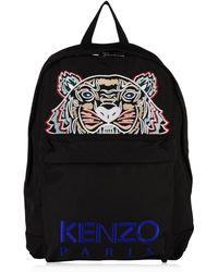 KENZO - Tiger Backpack In Black. - Lyst