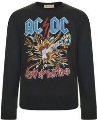 Gucci - Ac Dc Crew Neck Sweatshirt - Lyst