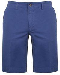 Canali Bermuda Cargo Shorts - Blue