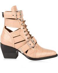 Chloé - Rylee Medium Boots - Lyst