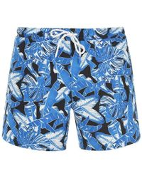 BOSS by Hugo Boss Hugo Barracuda Swim Shorts Mens - Blue