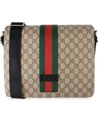 0ff271cf5ab Lyst - Gucci Totem Gg Supreme Messenger in Brown for Men