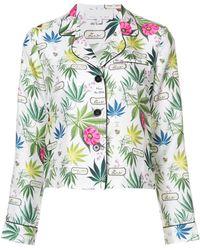 Fleur du Mal - Long Sleeve Pyjama Top - Lyst