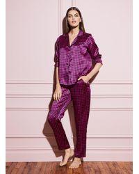 Fleur du Mal Pyjama Top - Multicolour