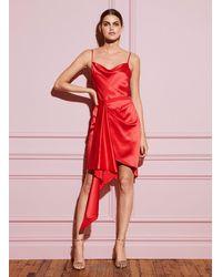 Fleur du Mal Cascade Dress - Red