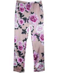Fleur du Mal | Contrast Back Seam Pj Pants | Lyst