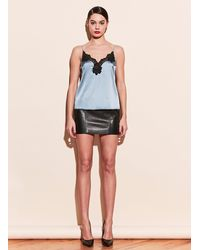 Fleur du Mal James Lace Trim Cami - Blue