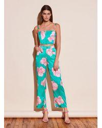Fleur du Mal Silk Jeans - Multicolour
