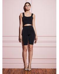 Fleur du Mal Knit Bike Shorts - Black