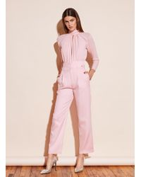 Fleur du Mal V-yoke Trouser - Pink