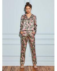 Fleur du Mal - Printed Pyjama Pant - Lyst