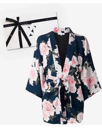 Fleur du Mal Haori Kimono Gift Box - Blue