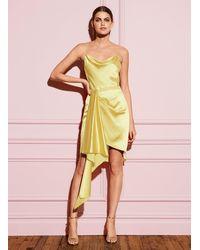 Fleur du Mal Cascade Dress - Yellow