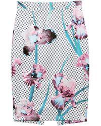 Fleur du Mal Grommet Pencil Skirt - Multicolour