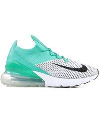 Nike W Air Max 270 Flyknit Clear Emerald/ Black - Green