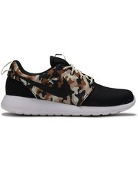 Nike Rubber Roshe One Se Camo Shoes for