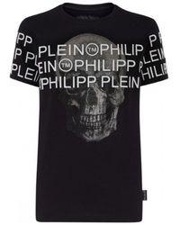 FABRIX Philipp Plein - Logo Across W Ss - Black