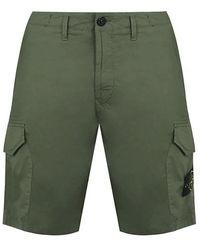 Stone Island Cargo Shorts Green