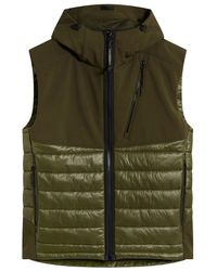 C.P. Company Cp Company Quilted GOGGLE Gilet - Green