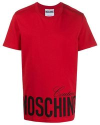 FABRIX Moschino Tee Red