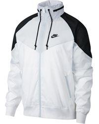 Nike Windrunner Logo-print Shell Jacket - White