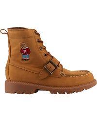 Polo Ralph Lauren Ranger Hi Ii Outdoor Boots - Brown