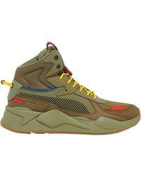 PUMA Rs-x Mid - Basketball Shoes - Green