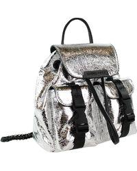 Kendall + Kylie Poppy Mini Backpack - Metallic