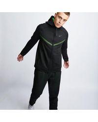 Nike Tech Fleece Full Zip - Schwarz