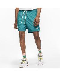 Nike Flow Woven Shorts - Blue