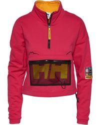 PUMA Helly Hansen 1/2 Zip Pullover - Pink