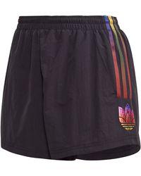 adidas Originals 3d Trefoil Shorts - Black