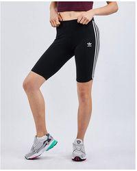 adidas Originals 3-Stripes Cycle Shorts - Schwarz