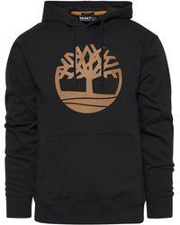 Timberland - Core Tree Logo Hoodie - Lyst