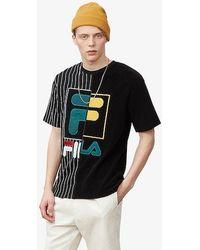 Fila Aiden Half T-shirt - Black