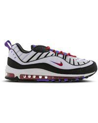 Nike Air Max 98 schuh - Weiß