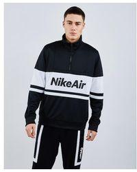 Nike Air Half Zip - Schwarz