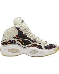 Reebok Question Mid Boktober - Basketball Shoes - Multicolor