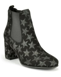 Kennel & Schmenger | Suede Star Ankle Boot | Lyst