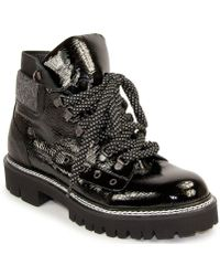 275 Central - Patent Leather Hiker Bootie - Lyst