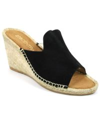 275 Central - Suede Espadrille Wedge - Lyst