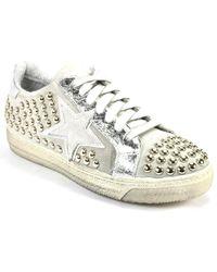 275 Central - Studded Star Sneaker - Lyst